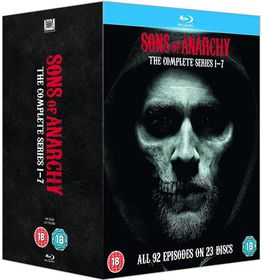 Sons of Anarchy: Complete Seasons 1-7 (Parallel Import - Blu-ray)