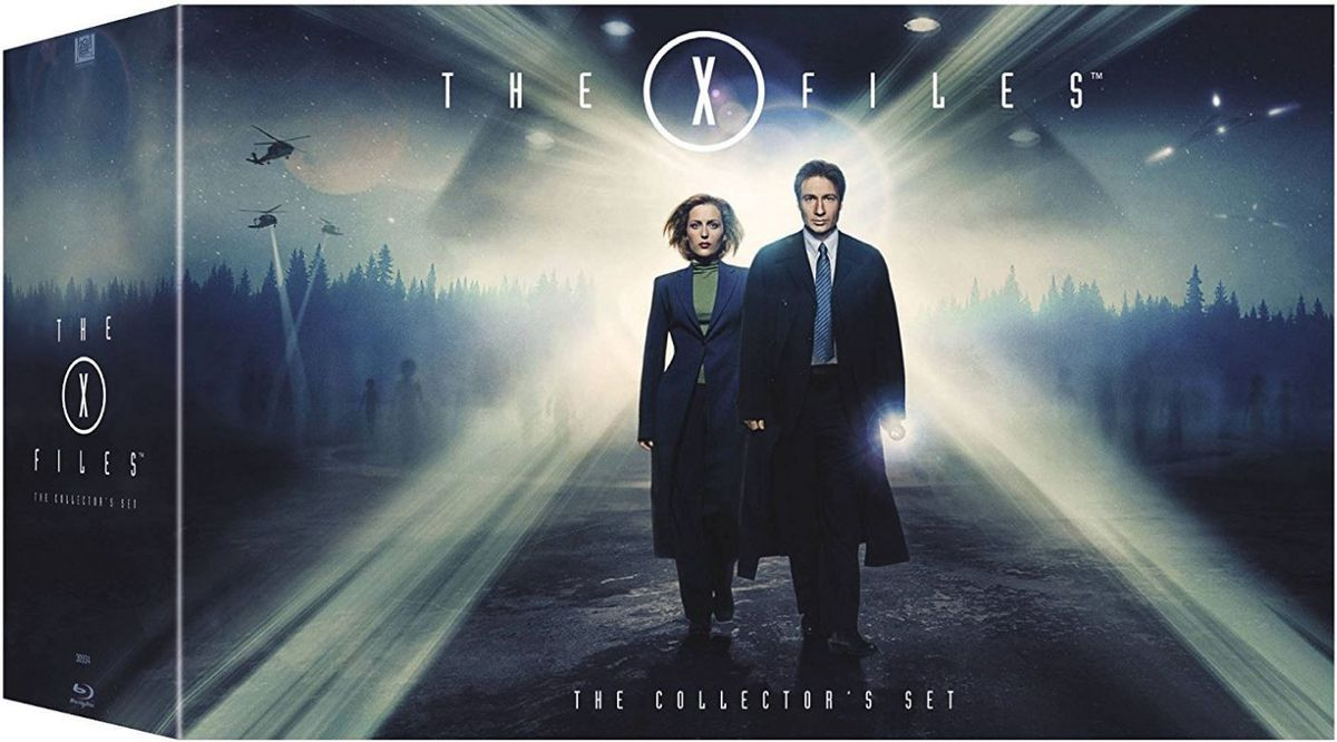 X Files 1 9 Complete Box Set Blu Ray