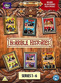 Horrible Histories - Series 1-6 (DVD)