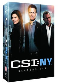 CSI New York: Seasons 7-9 (DVD)
