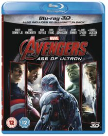Avengers: Age of Ultron (3D + 2D Blu-ray)