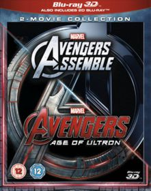 Marvel Avengers Assemble/Avengers: Age of Ultron (3D Blu-ray - Parallel Import)