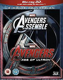 Marvel Avengers Assemble/Avengers: Age of Ultron (3D Blu-ray)
