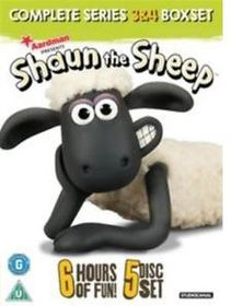 Shaun the Sheep: Complete Series 3 and 4 (DVD)
