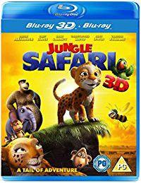 Jungle Safari 3D (3D Blu-ray)