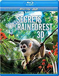 Secrets Of The Rainforest (3D Blu-ray)