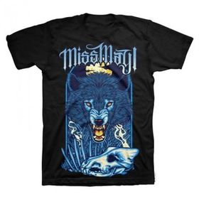 Miss May I - Angry Wolf Mens T-Shirt (Size: L)