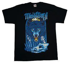 Miss May I - Angry Wolf Mens T-Shirt (Size: S)