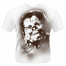 Star Wars Chewy Men's T-Shirt (Size: S - Parallel Import)