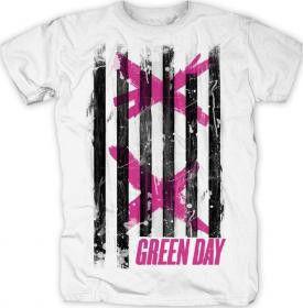 Double X Stripes Mens T-Shirt (Size: L)