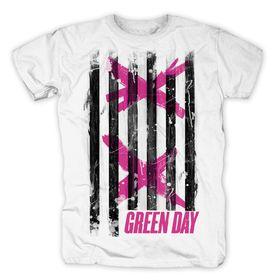 Double X Stripes Mens T-Shirt (Size: M)