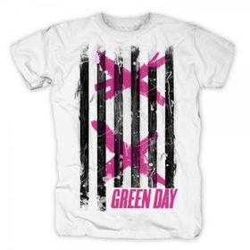 Double X Stripes Mens T-Shirt (Size: S)