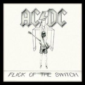 AC/DC - Flick of the Switch Framed Album Cover Print