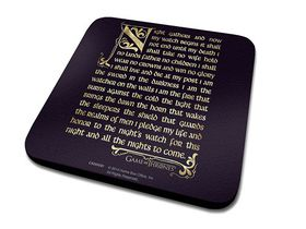 Game Of Thrones Oath Coaster