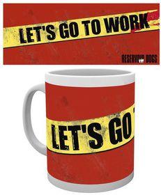 "GB eye ""Go To Work"" Reservoir Dogs Multi-Colour - Mug"