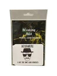 Breaking Bad Heisenberg Travel Card Holder