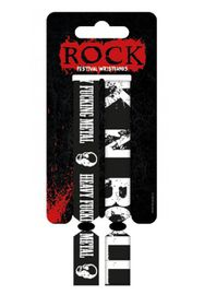 Rock Festival Unisex Adult's Wristband Mulit-Coloured - One Size
