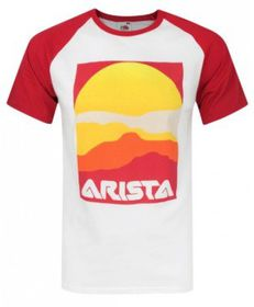 Arista Baseball Logo Mens T-Shirt ( Size: M)
