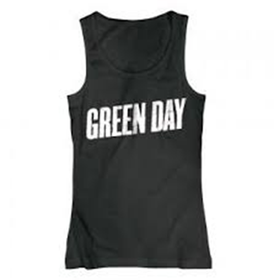 Green Day Logo Ladies T-Shirt (Size: S)