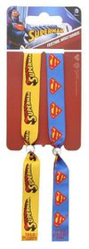 Superman - Logo and Insignia Double Festival Wristband