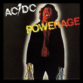 AC/DC - Powerage Framed Album Cover Print