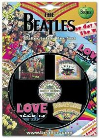 The Beatles - SGT Pepper Pin Set - Set of 5