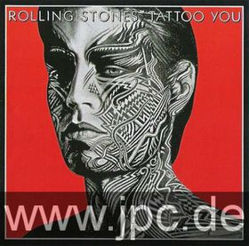 The Rolling Stones - Tattoo You Framed Album Cover Print