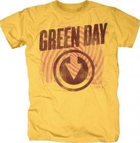 Green Day Thumbprint Mens T-Shirt (Size: XL)