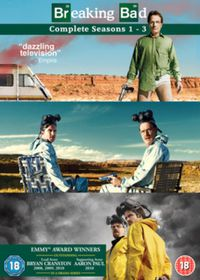 Breaking Bad: Seasons 1-3 (DVD)