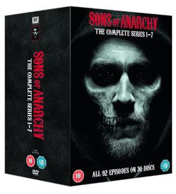 Sons of Anarchy: Complete Seasons 1-7 (Parallel Import - DVD)