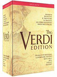 Verdi: The Verdi Edition - 12 Great Operas