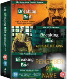 Breaking Bad The Final Seasons 4-6 (DVD)