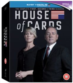 House of Cards: Seasons 1-3 (Blu-ray )