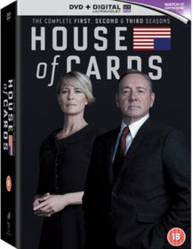 House of Cards: Seasons 1-3 (DVD)