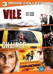 Vile / Chained / Carjacked (DVD)