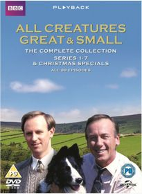 All Creatures Great and Small: Complete Series (DVD)