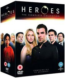 Heroes: The Complete Series 1-4 (DVD)
