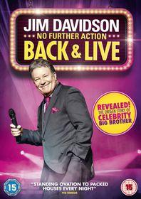 Jim Davidson No Further Action Back & Live (DVD)