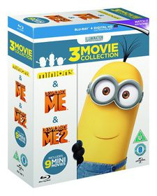 Minions 3-Movie Collection (Blu-ray)