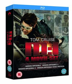 Mission Impossible Quadrilogy (Blu-ray)