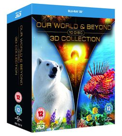 Our World and Beyond Collection (3D Blu-ray)