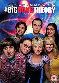 Big Bang Theory: Seasons 1-8 (DVD)