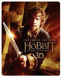Hobbit: The Desolation of Smaug - Extended Edition Steelbook (Blu-ray)