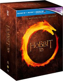The Hobbit 3D: The Motion Picture Trilogy (3D + 2D Blu-ray)