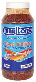 Marltons - Pond Pellets Small - 1mm Bottle - 450g