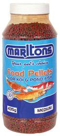 Marltons - Pond Pellets Medium - 2mm Bottle - 435g