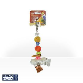 Marltons - Fruit Kabobs Small Parrot - Medium Rope & Wood Toy