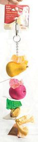 Marltons - Fruit Kabobs Large Parrot - Extra-Large Rope & Wood Toy