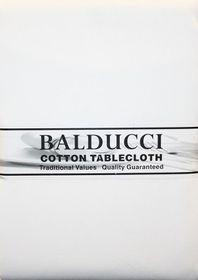 Balducci - Cotton White Tablecloth - 6 Seater