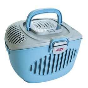 Living World - Small Animal Carrier - Blue/Grey
